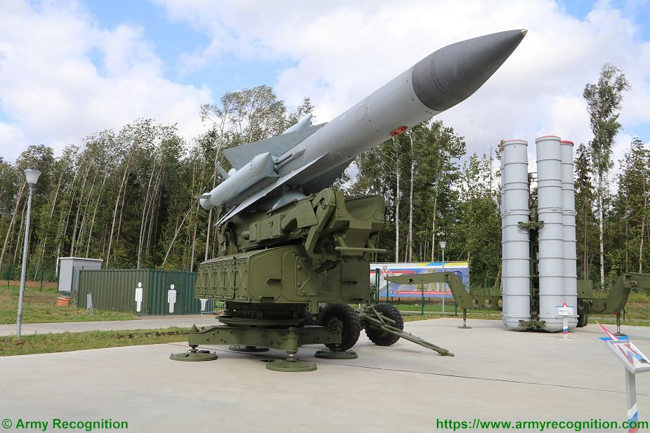 SA 5 Gammon S 200 Angara Vega Russia Russian low to high altitude ground to air missile system Russia 925 001