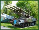 SA-6 Gainful 2K12 Kub Ground-to-air missile system technical data sheet specifications information description pictures photos images identification intelligence Russia Russian army