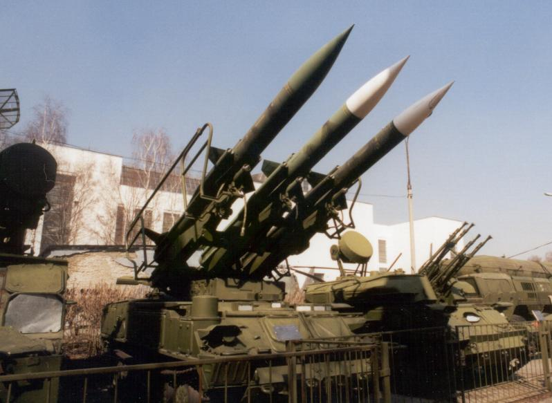 Sa 6 Gainful 2k12 Kub Ground To Air Missile System