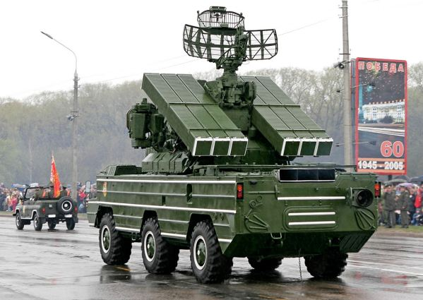 Sa 8 Gecko 9k33 Osa Ground To Air Missile System Technical