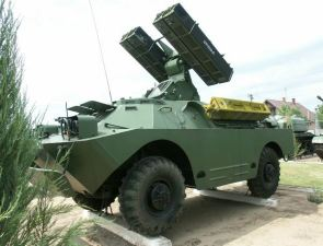 SA-9 Gaskin 9K31 Strela-1 ground to air missile system technical data sheet specifications information description pictures photos images identification intelligence Russia Russian army
