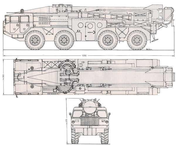 Scud Scud-a Scud-b  SS-1 9K72 R-11 ground to ground medium range ballistic missile technical data sheet specifications information description pictures photos images identification intelligence Russia Russian army