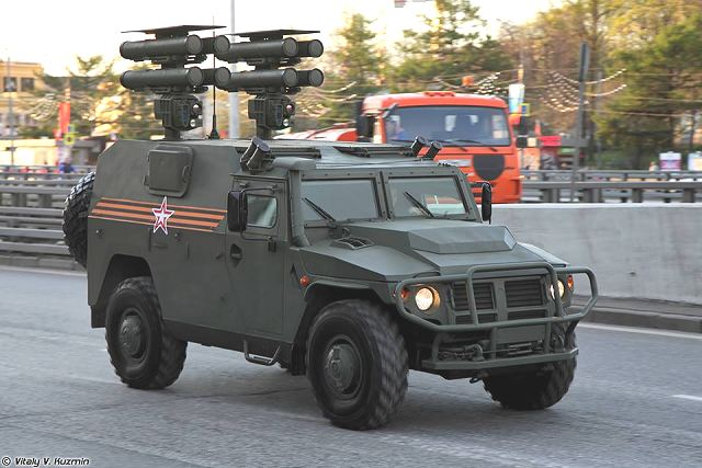 Tigr-M Tigr Kornet-D Kornet-EM 4x4 anti-tank missile carrier armoured vehicle Russia russian army 640 002
