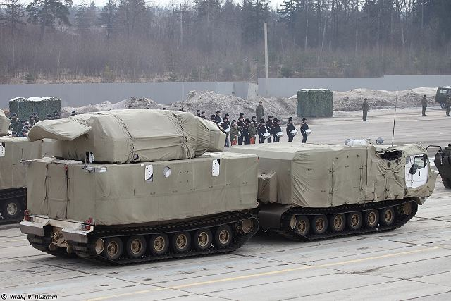 TOR M2DT 9K331MDT Tor air defense missile system on DT 30PM Russia Russian army military equipment 001