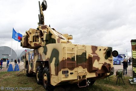 TOR M2K short range surface to air defense missile system defense Russia Russia army rear view 001