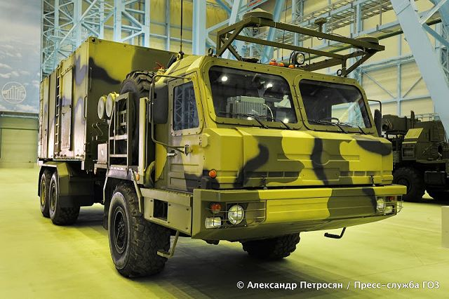50K6 Command Control Vehicle Vityaz 50R6 missile system technical data sheet specifications information description pictures photos images video intelligence identification Russia Russian army defence industry military technology equipment