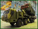 50P6 TEL truck launcher erector Vityaz 50R6 missile system technical data sheet specifications information description pictures photos images video intelligence identification Russia Russian army defence industry military technology equipment