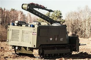 Using the remote control technology, the URAN-14 system can be operated from a distance up to 1,500 m