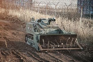 Uran-6 MRTK-R unmanned multifunctional demining system robot data sheet specifications information description pictures photos images video intelligence identification Russia Russian Military army defence industry military technology equipment