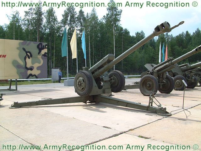 D-30 122 mm towed howitzer technical data sheet specifications information description pictures photos images intelligence identification intelligence Russia Russian army defence industry military technology