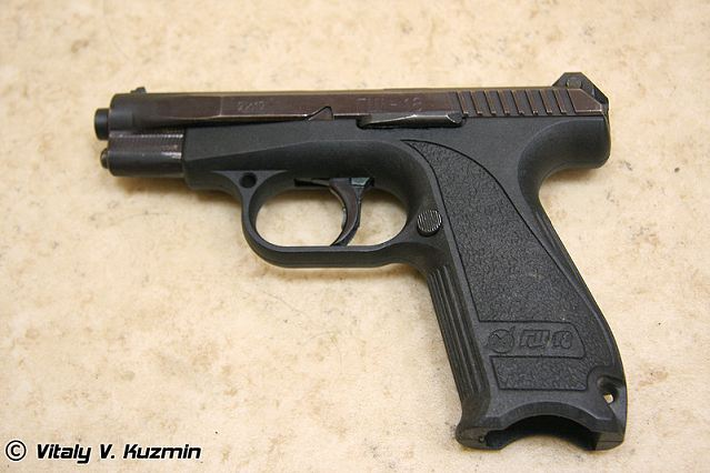 "Russia's Arsenal plant has developed a modular pistol with a new lock mechanism. The plant's director Dmitriy Streshinskiy told Izvestiya that by using a removable barrel the selfsame pistol can turn into a gun of four different calibers, while an extended barrel turns the ""Strayk"" into a carbine capable of aimed fire at 200 meters. However, at the Central Research Institute of Precision Machine Building, which certifies firearms, they say that they are not yet familiar with this development."