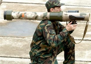 RPG-32 Hashim Nashab anti-tank grenade launcher short-range weapon technical data sheet specifications information description pictures photos images video intelligence identification Russia Russian army defence industry military technology