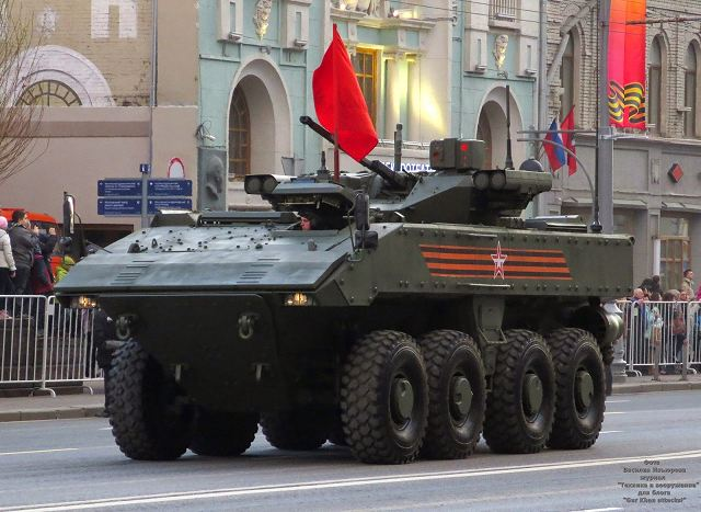 Tyre Sales Online >> K-17 Bumerang IFV 8x8 Boomerang armored infantry fighting vehicle technical data sheet ...