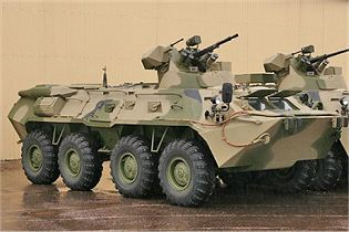 BTR-82 armoured personnel carrier technical data sheet specifications information description pictures photos images intelligence identification intelligence Russia Russian army defence industry military technology Arzamas Engineering Plant