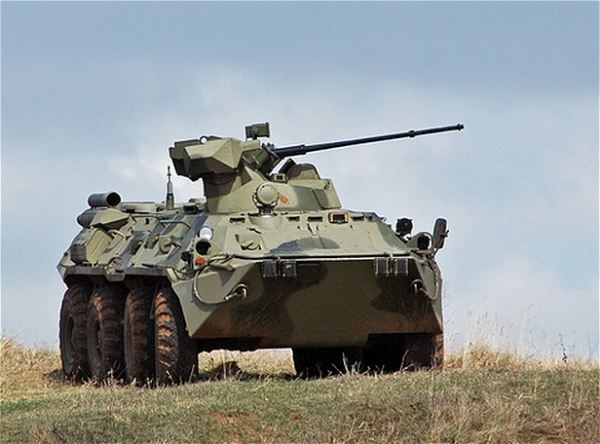 The Russian army Ground Forces will continue to receive Iskander-M [SS-26 Stone] tactical ballistic missiles, new multiple-launch rocket systems, self-propelled guns, BTR-82A armored personnel carriers, and anti-tank missile systems.