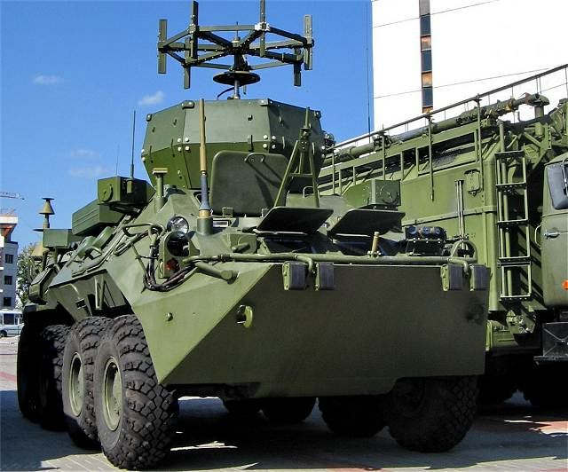Infauna K1Sh1 UNSh-12 electronic warfare vehicle technical data sheet specifications information description pictures photos images video intelligence identification intelligence Russia Russian army defence industry military technology