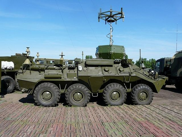 Infauna P-531B wheeled armoured vehicle reconnaissance jamming electronic warfare Russia Russian army defence industry 006