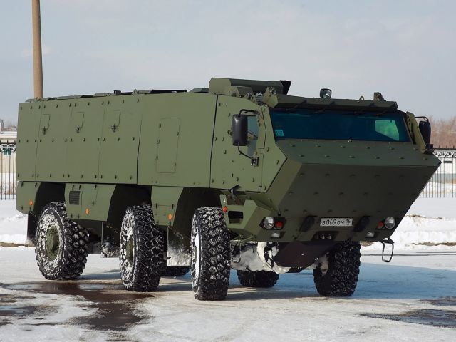 """Last generation military trucks KAMAZ-63969 """"Typhoon-K"""" will participate in this year's Victory Day Parade on May 9 in Moscow, Russian Defense Ministry said on Wednesday, April 2, 2014."""