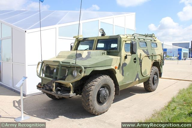 The Tigr-M GAZ-233114 4x4 multipurpose armoured vehicle will enter in service with the Russian army during the first half of 2013, said the spokesman of the military-industrial Company (VPK) Sergei Suvorov. All tests on the vehicle were achieved by the Russian Ministry of Defense, and at the request of the Russian army, the manufacturer improved its ability to have more protection against land mines.