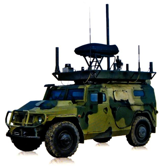 Tigr-M MKTK REI PP Leer-2 VPK-233114 Mobile Electronic Warfare system EW vehicle technical data sheet specifications information description pictures photos images video intelligence identification Russia Russian army defence industry military technology