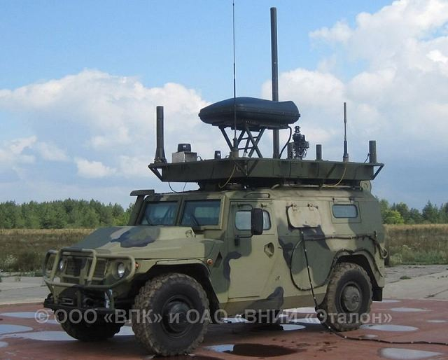 The Tigr-M MKTK REI PP with Leer-2 electronic warfare system is designed for developing radio emitters, jamming and suppressing radio-electronic means including cellular phone systems