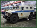 Russia's Central Military District (CMD) is to receive 10 new armored Tigr GAZ-233036 SPM-2 vehicles, Colonel Jaroslav Roschupkin said Friday, June 6, 2014.