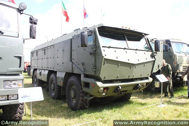 In addition, the Russian Airborne Troops may order experimental Typhoon 6x6 armored personnel carriers, manufactured by Russia's KamAZ, after the company modifies the vehicle's design to match the demands of the Russian paratroopers, Shamanov said.