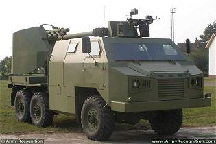 M09 105mm 6x6 armoured truck-mounted howitzer technical data sheet specifications description information intelligence pictures photos images identification YugoImport Serbia Serbian defence industry army military technology