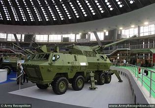 M03 K1B NORA-B52 K-I 155mm truck mounted artillery howitzer system technical data sheet specifications description information intelligence pictures photos images identification YugoImport Serbia Serbian defence industry army military technology