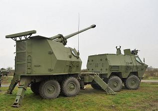 M03 k1b nora B52 k I 155mm truck mounted artillery howitzer system technical data sheet pictures on gps navigation system for europe