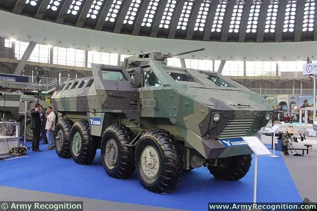 The Lazar BTR-DR-8808 8x8 is a multi-purpose armored vehicle designed following modern world trends in the development of a family of wheeled armoured vehicles intended for carrying out of a number of tactical tasks in different armed conflicts.