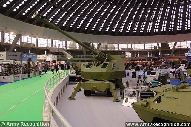 The self-propelled artillery system NORA-B/52 family 155 mm, is fitted with a 52 caliber barrel, it's the first complex combat system developed by Yugoimport-SDPR which has entered serial production.