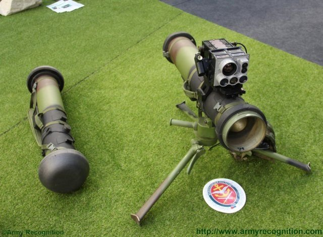 Bumbar short range portable anti tank missile highlighted at PARTNER 2015 640 001