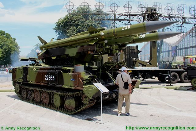 Kavdrat-ML 2K12-ML air defense missile system Partner 2015 defense exhibition Belgrade Serbia 640 001