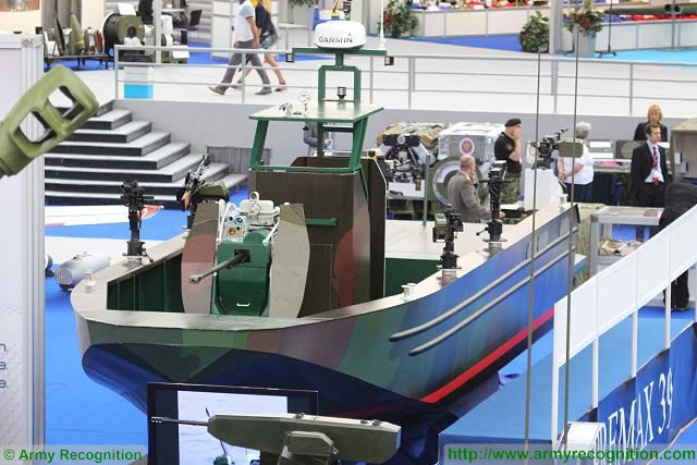 At the International Defense Exhibition in Serbia, Partner 2015, which took place from the 23 to 26 June in Belgrade, Serbian State Defense Company Yugoimport unveiled the Premax 39, a Multirole Fast Patrol Boat especially designed to be used in rivers, lakes as well as littoral water.