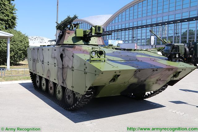 Serbian Defense Company Yugoimport presents modernized version of BVP M-80 A tracked IFV (Infantry Fighting Vehicle) under the name of BVP M-80AB1 at Partner 2017, the defense exhibition in Serbia. The BVP M80 was seen for the first time in 1975 and was followed by a modernized version named BVP M-80A in 1984.