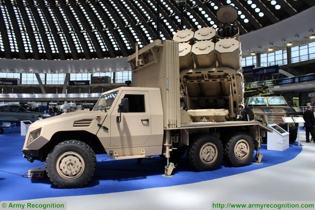 Serbian Company Yugoimport in collaboration with the armoured vehicle manufacturer NIMR from United Arab Emirates (UAE) has developed a new air coastal defense missile using the technology of the ALAS anti-tank missile system mounted on 6x6 NIMR vehicle.