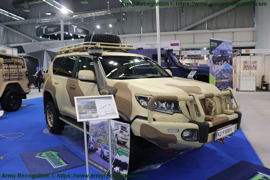 Achleitner promotes its range of security and military vehicles Partner 2019 Serbia 925 002