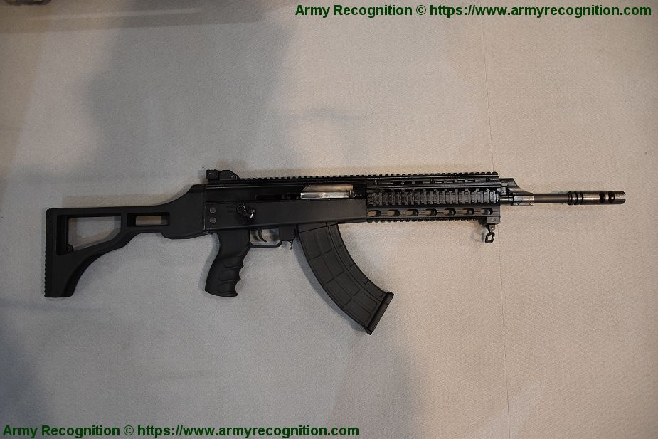 New B15 assault rifle from NB INAT of Serbia Partner 2019 925 001