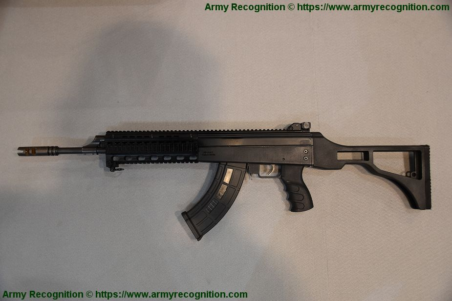 New B15 assault rifle from NB INAT of Serbia Partner 2019 925 002