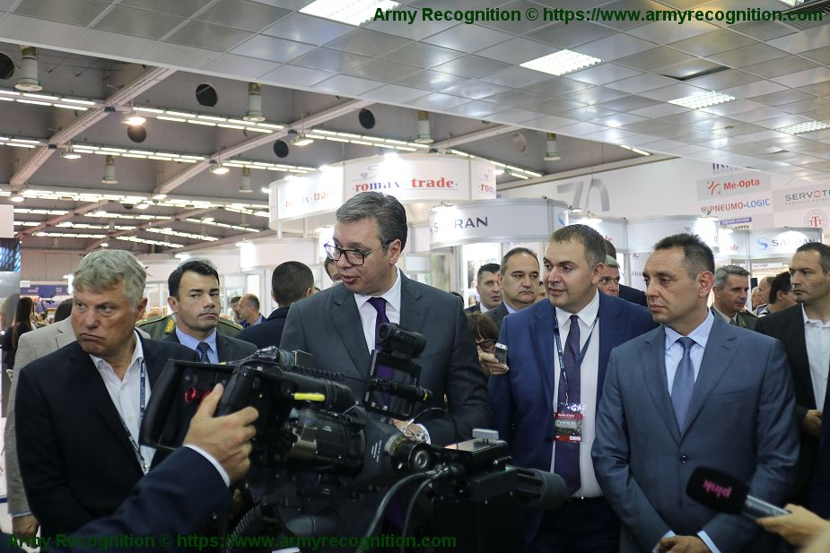 Today opening of Partner 2019 International Defense Exhibition in Serbia Partner 2019 925 001