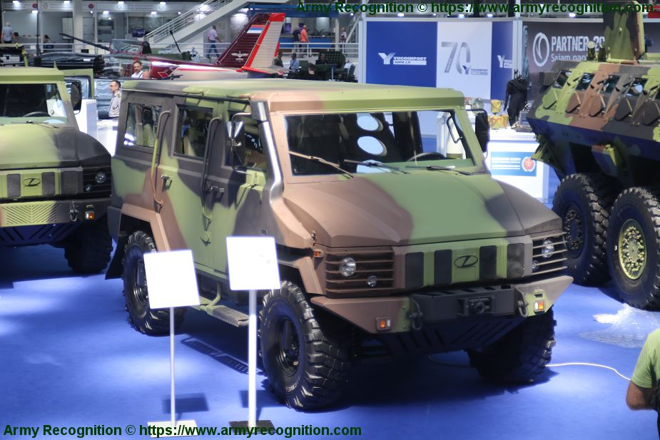 Zastava 1 4x4 all terrain tactical vehicle will enter in service with Serbian army Partner 2019 925 001