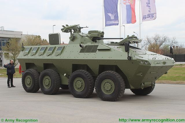 Lazar 2 MRAV MRAP Multi-Purpose 8x8 armored vehicle