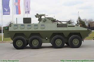 Lazar 2 8x8 MRAV MRAP Multi-Purpose armoured vehicle YugoImport Serbia Serbian defense industry military technology right side view 002