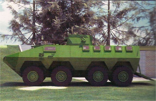 At IDEX 2013, the Serbian Company Yugoimport unveils a new version of the LAZAR 8x 8 multirole armoured vehicle, the Lazar 2. Multirole armored vehicle LAZAR 2 8x8 is based on modifications of the first version and the technical solutions implemented on the functional model of LAZAR vehicle.