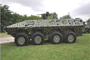 Lazar 3 8x8 armoured infantry fighting vehicle technical data sheet specifications pictures video information intelligence description photos images identification YugoImport Serbia Serbian defence industry army military technology