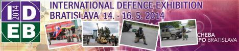 pictures video gallery IDEB 2014 defence exhibition of Bratislava  Slovakia Slovak Republic