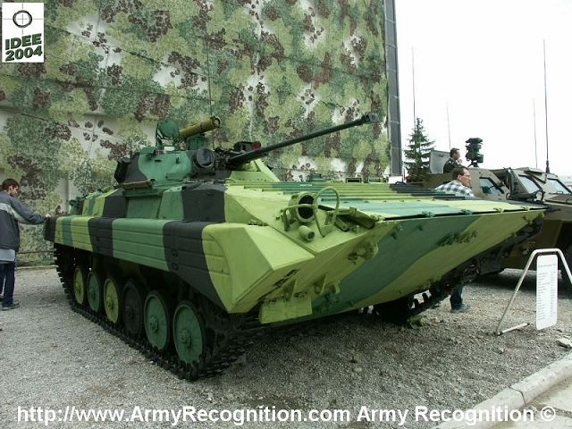 BVP-2 tracked armoured infantry fighting vehicle Slovak Army