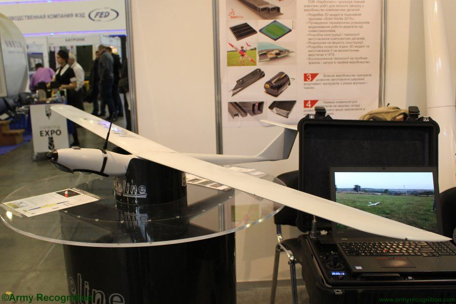 Carboline higlights combat proven Mara 2 UAS at Arms and Security 2017 001