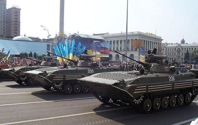 Ukraine's 2012 military spending will increase by around 30 percent, to about $2 billion or 1.1 percent of GDP, the Ukrainian Defense Ministry's financial department said on Wednesday, January 25, 2012.